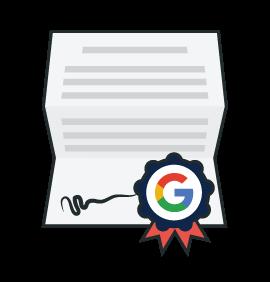 NextADV Certificazione Google